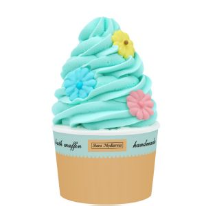 Muffinka do kąpieli Happy Flowers ok. 260 g